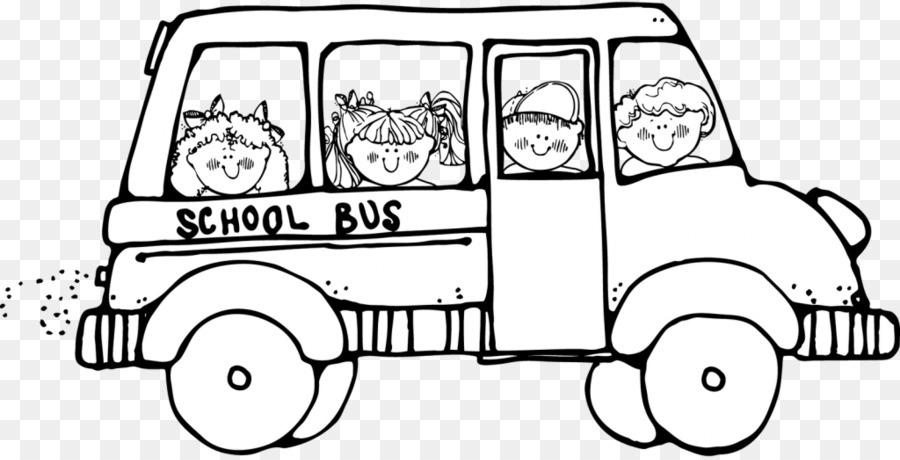 School Black And White png download.