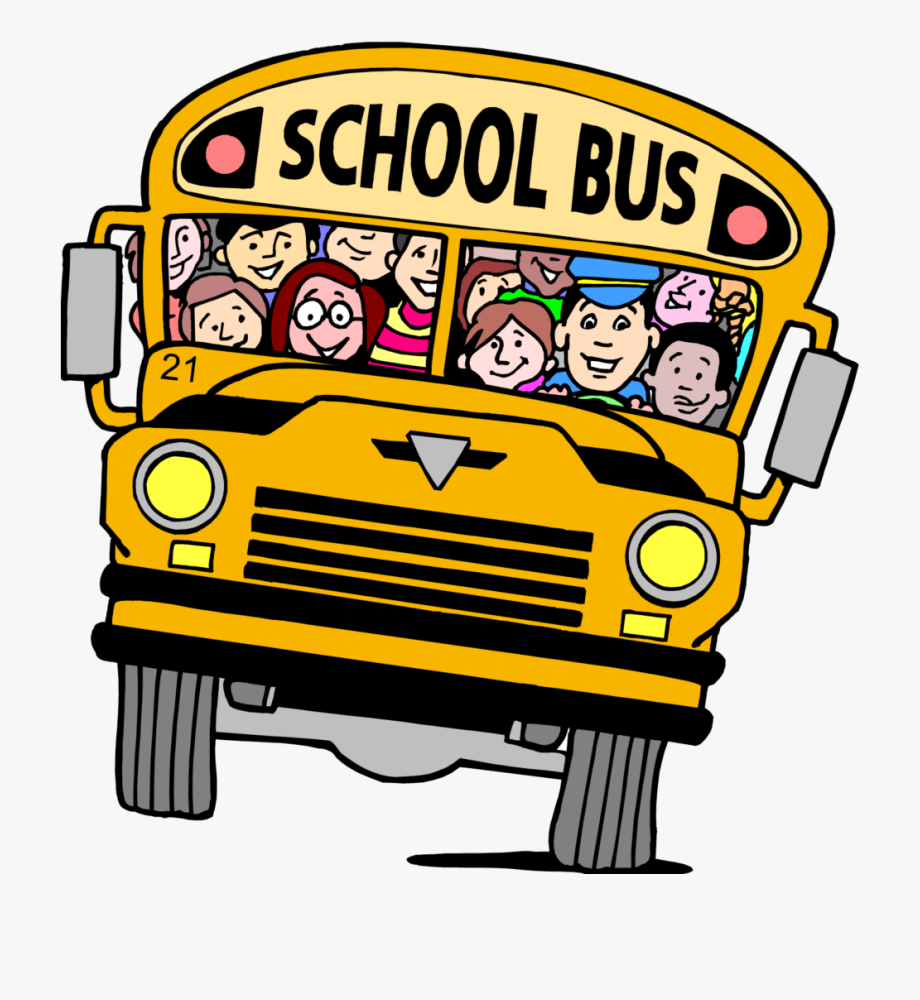Transparent Background School Bus Clipart , Png Download.