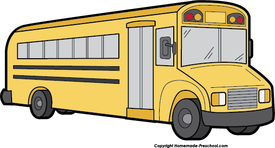 Cute school bus clip art free clipart images 3.