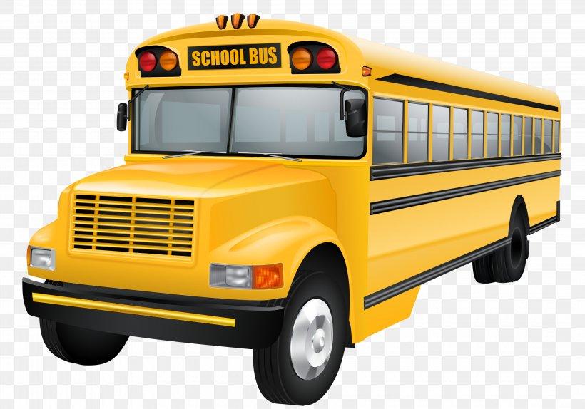 School Bus Clip Art, PNG, 4280x2996px, Bus, Brand.