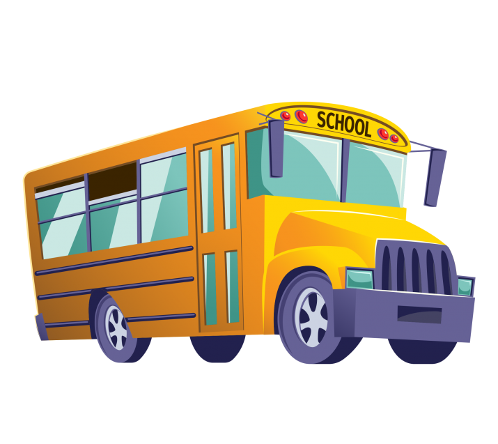 School Bus Clipart PNG.