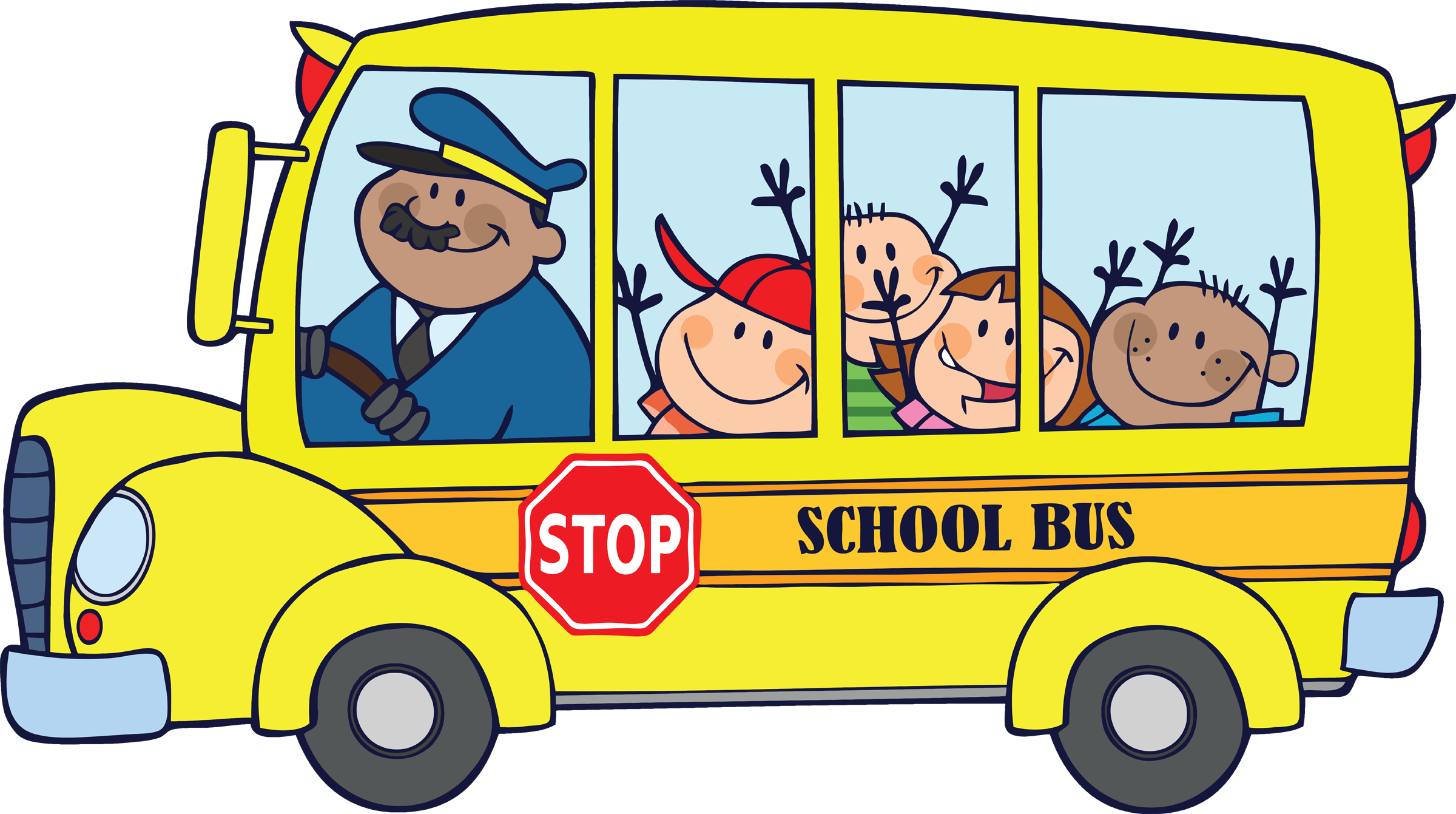 School Bus Clipart Png (+).