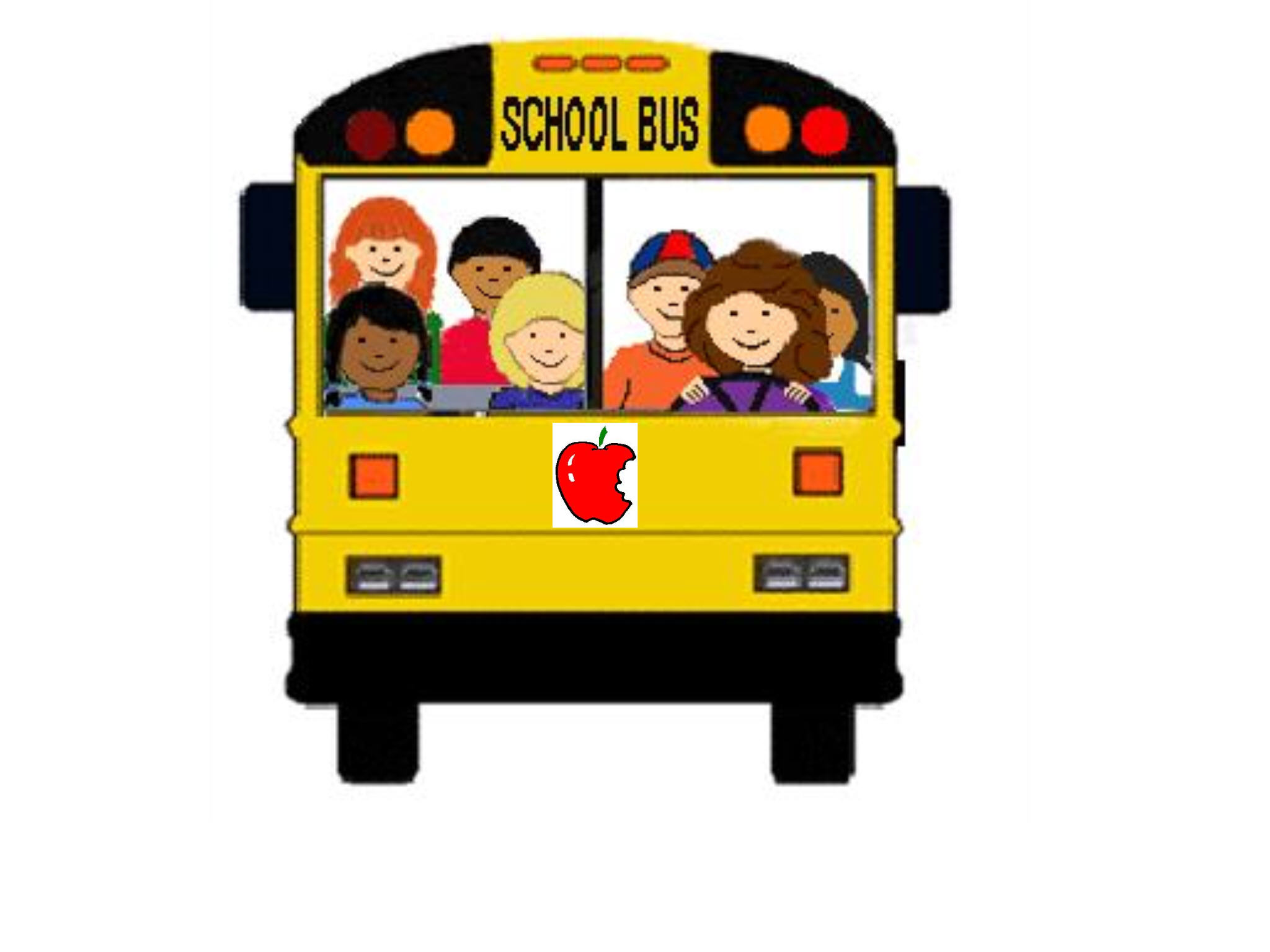 school bus driver clipart.