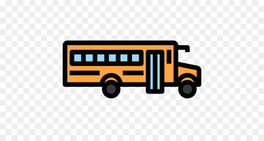 School Bus Icon clipart.