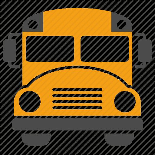 School Bus Hd Icon #23297.