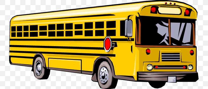 School Bus Clip Art, PNG, 747x351px, Bus, Brand, Bus Driver.