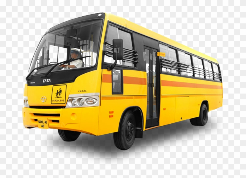 School Bus Transparent Background Png.