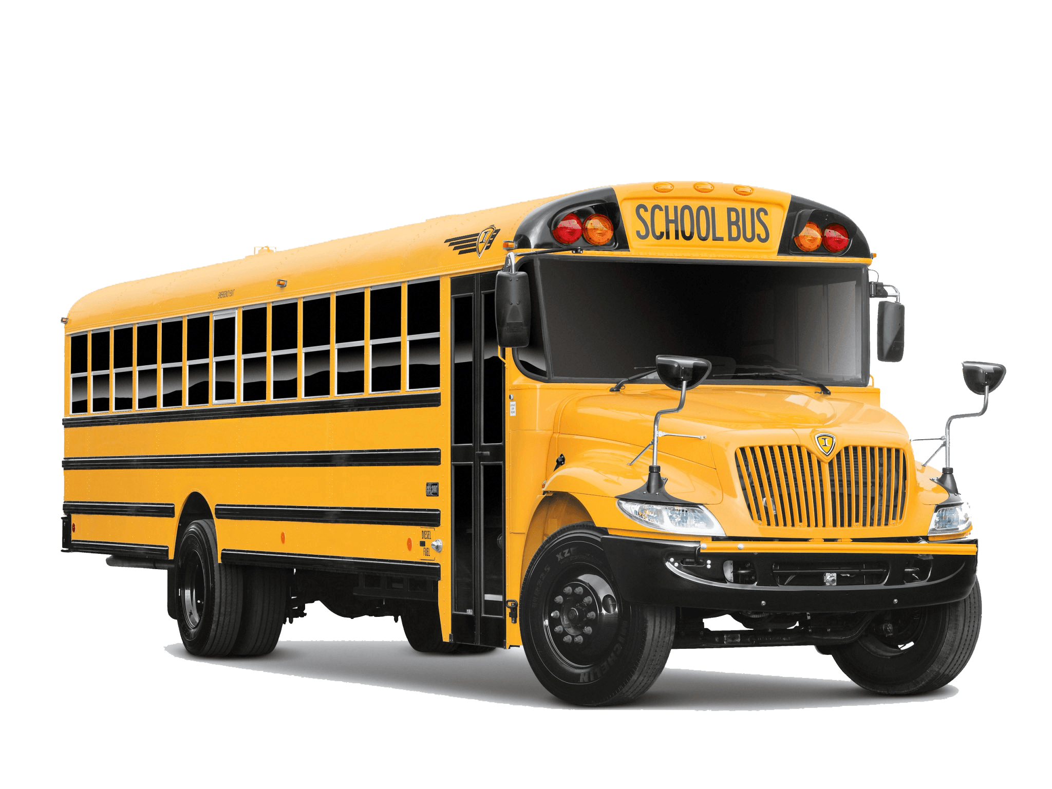 Side School Bus transparent PNG.