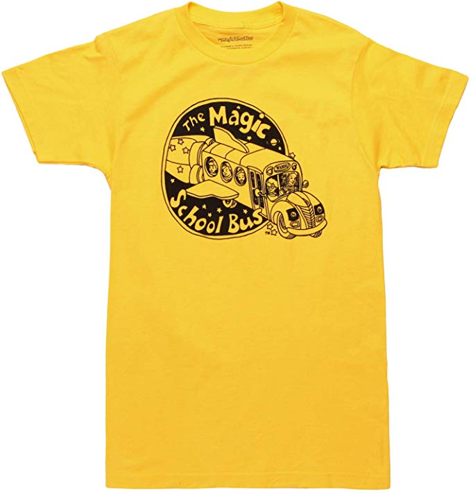 Amazon.com: Magic School Bus Logo Adult T.