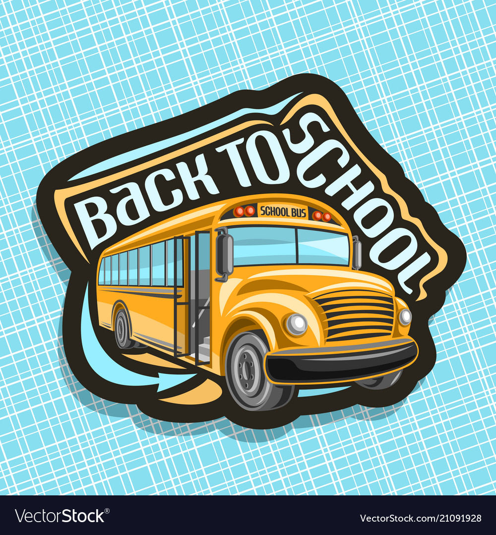 Logo for school bus.