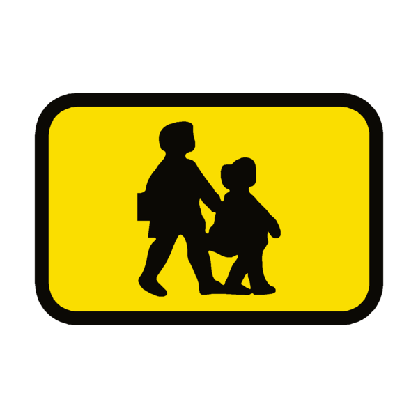 School Bus Sticker.