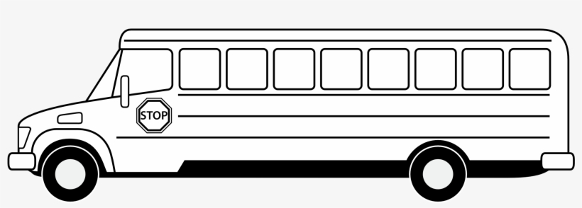 28 Collection Of School Bus Clipart Outline.