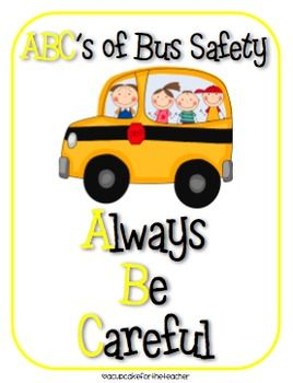 Bus Safety Clipart.