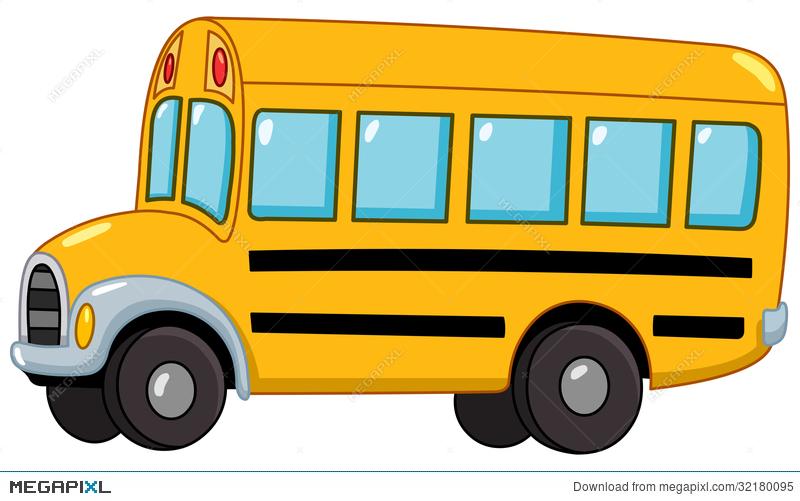 School Bus Illustration 32180095.