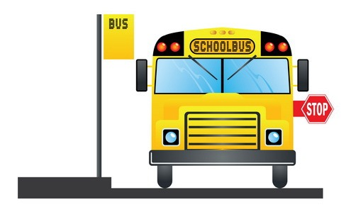 School bus stop clipart » Clipart Station.