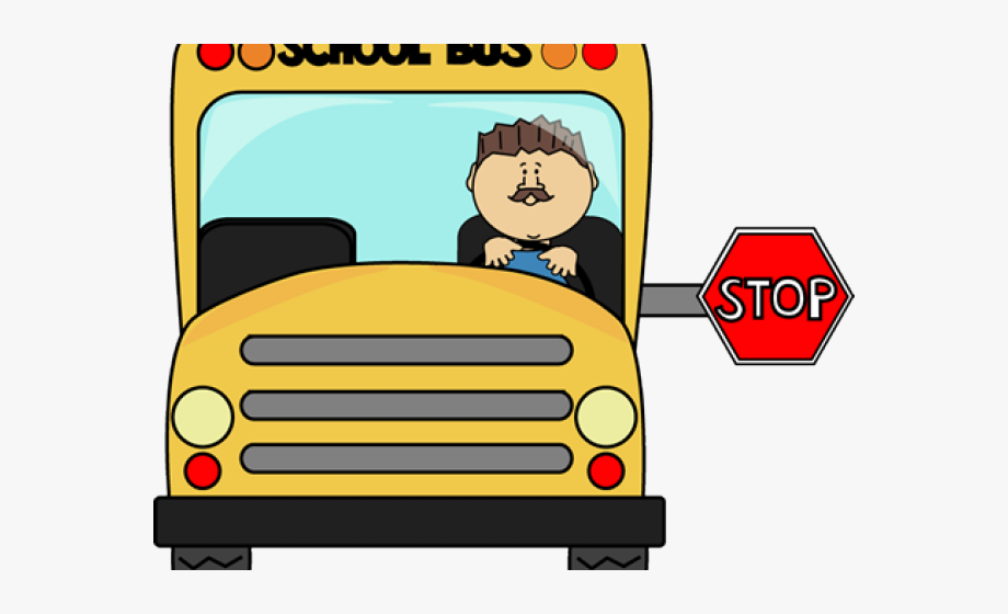 Driving Clipart Stopped.