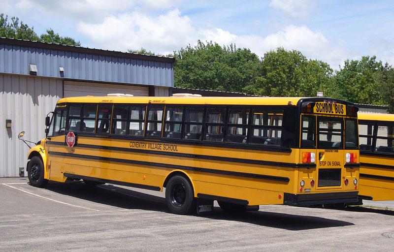 School Bus Thomas C2 Clipart.