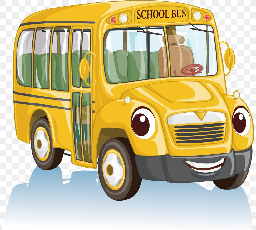 School Bus Cartoon Clip Art, PNG, 809x736px, Bus, Automotive.