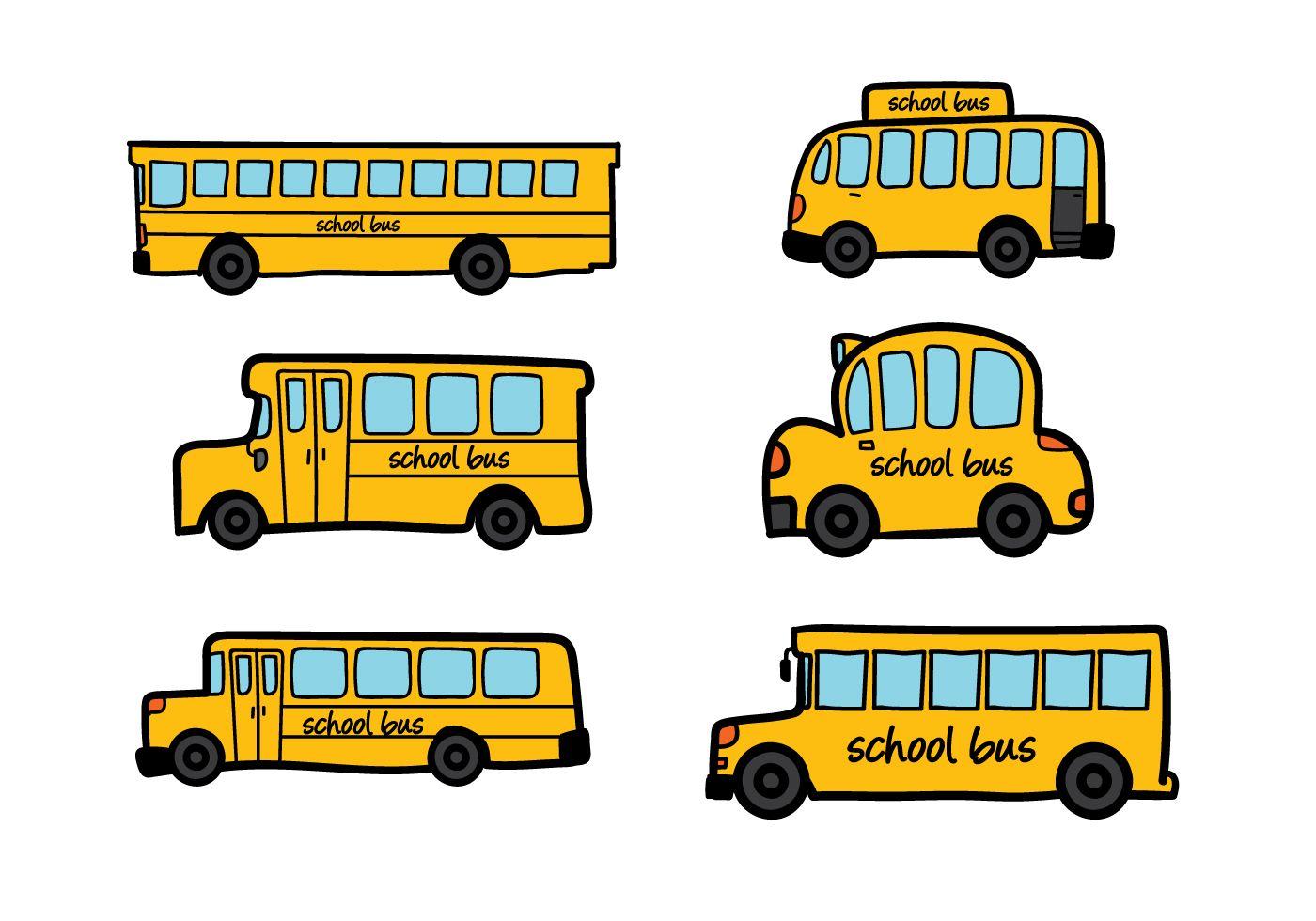School Bus Vector.