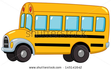 School Bus Stock Images, Royalty.