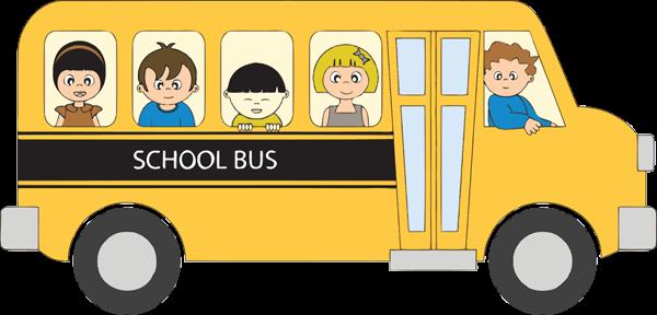 School transportation clip art.