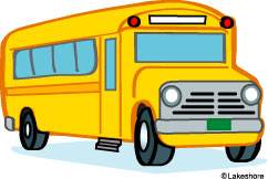 school bus clip art at Lakeshore Learning.