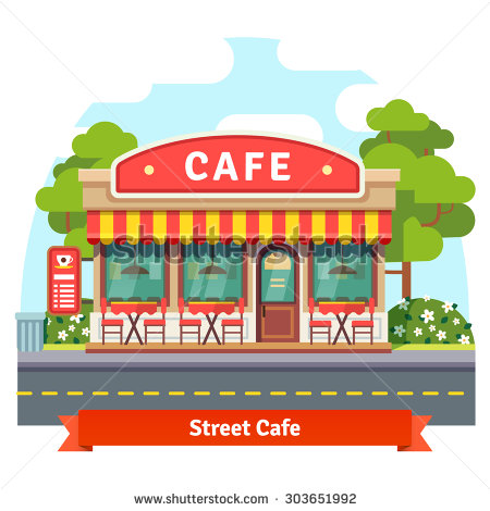 school cafeteria building clipart clipground