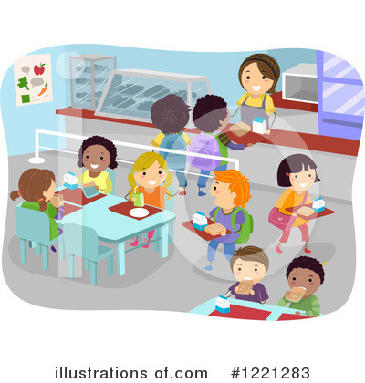 380 Cafeteria free clipart.