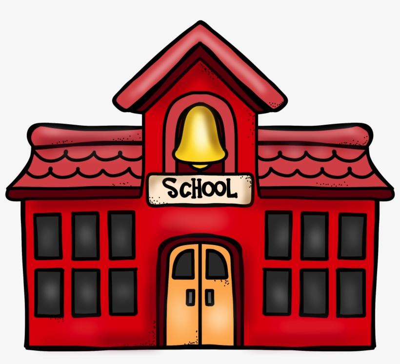 School Building Cartoon Png.