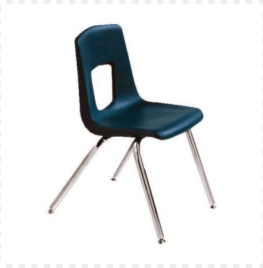 school chair PNG image with transparent background.