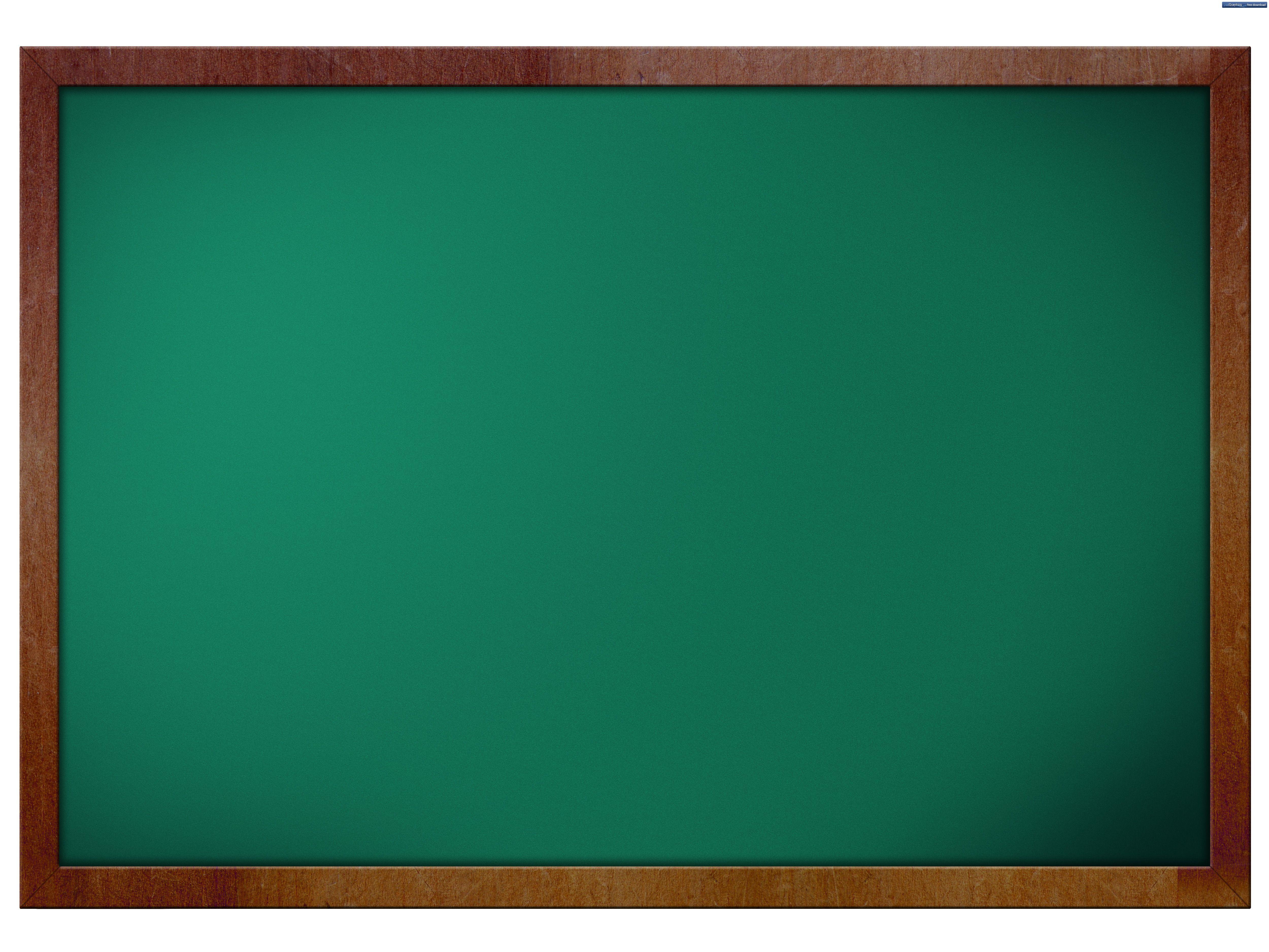 Blank Chalkboard Clipart.
