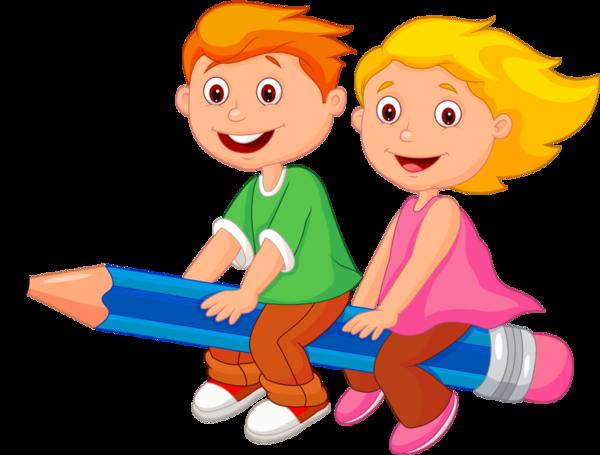 Cute School Kids Clipart Education Children.