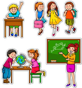 Children school clipart free vector download (5,252 Free.