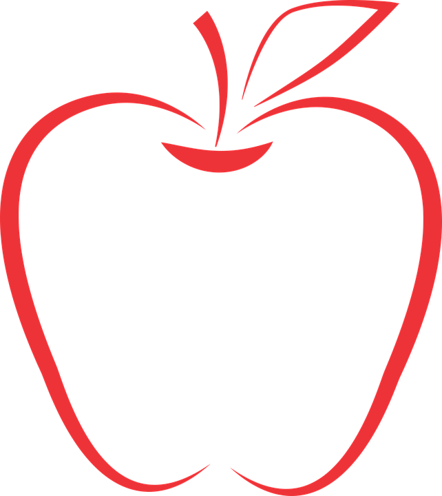 Clipart apple school, Clipart apple school Transparent FREE.