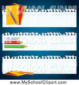 Royalty Free Site Banner Stock School Designs.