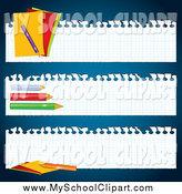 Royalty Free Site Banner Stock School Designs.