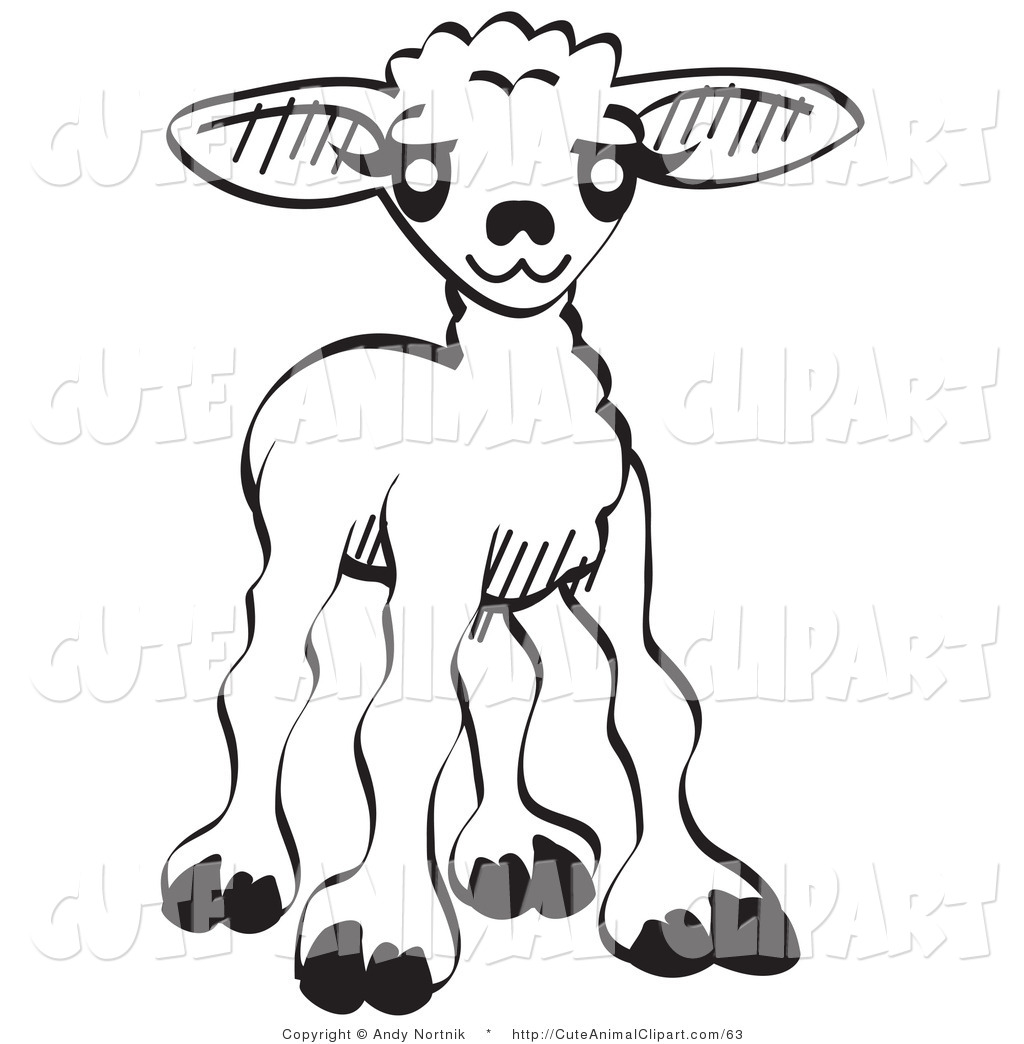 School Clipart Black And White Animal.