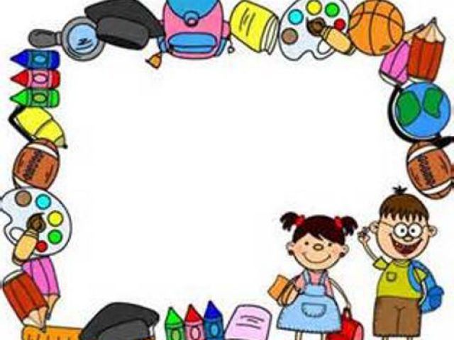 School clipart borders 2 » Clipart Station.