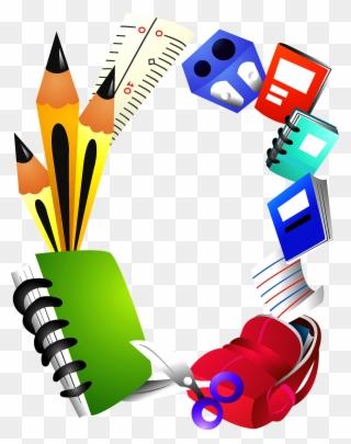 Free PNG School Border Clip Art Download.