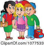 Free School Friends Clipart.