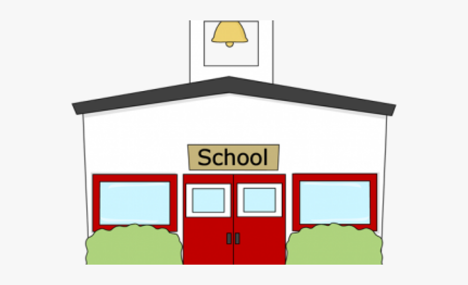 School Clipart Transparent Background.