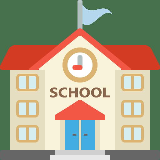 School Clipart transparent PNG.