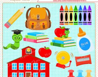 School Clipart Sets.
