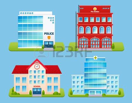 1,602 Police Station Cliparts, Stock Vector And Royalty Free.