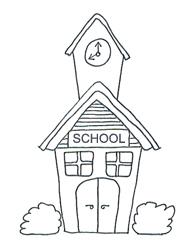 School Clipart Template.