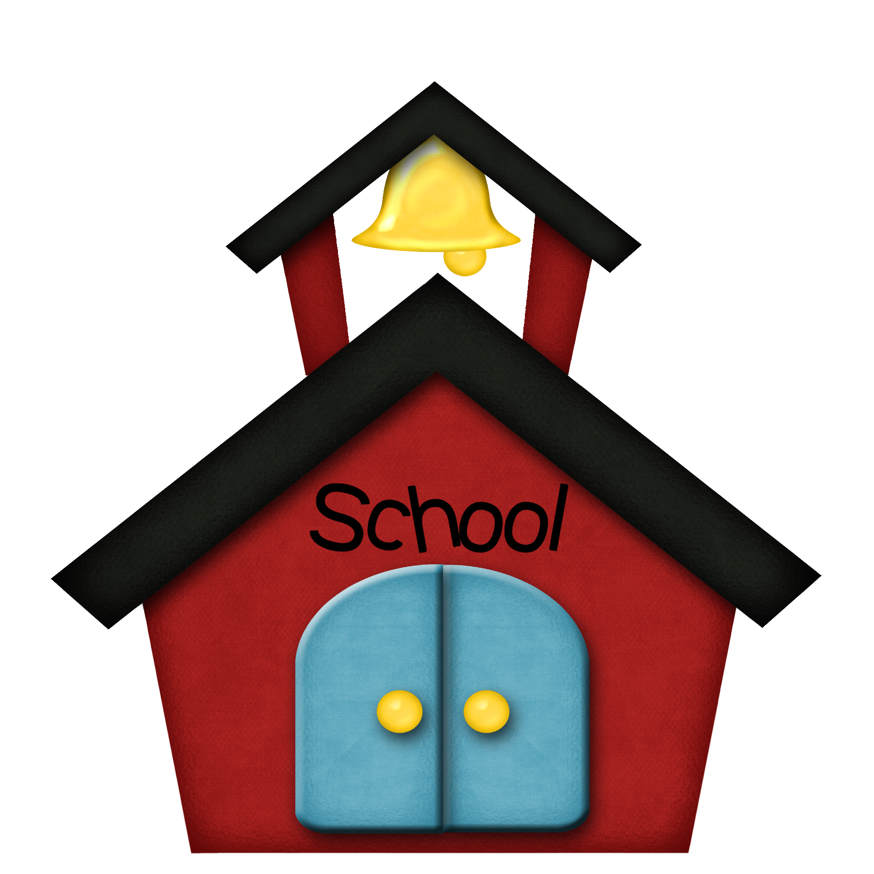 School Building Clipart Png.