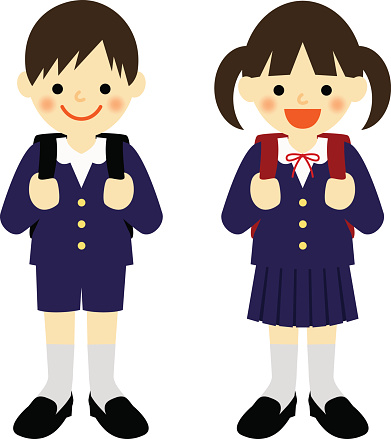 School Clothes Clipart.