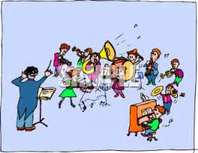 Similiar High School Band Concert Cartoon Keywords.