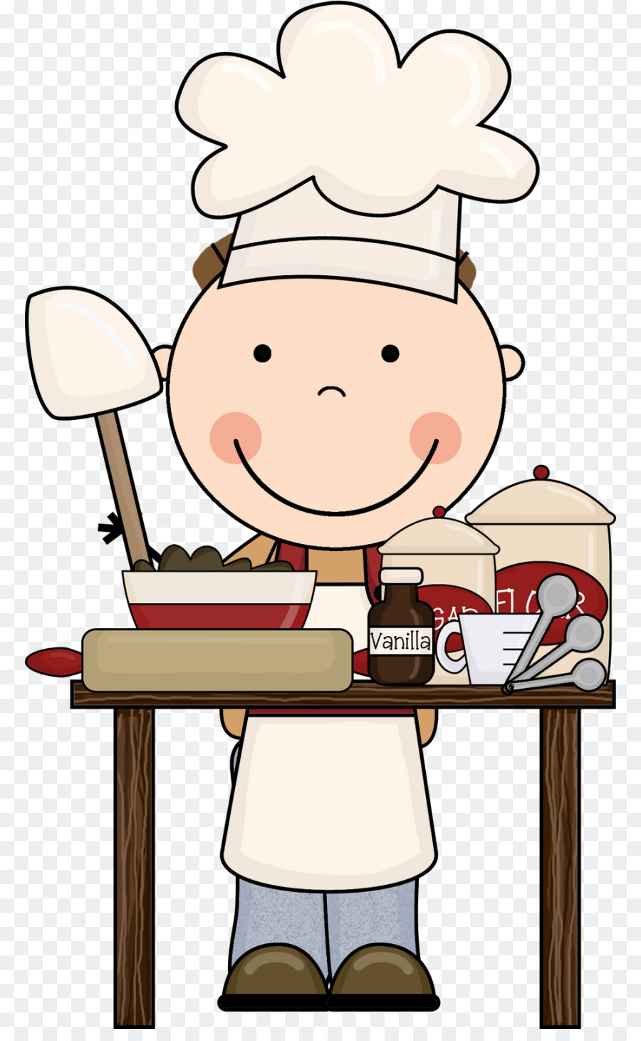 Chef Cartoon png download.