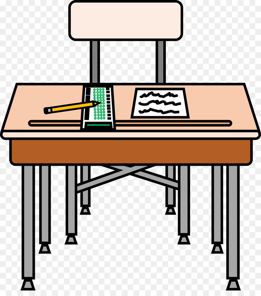School Desk clipart.